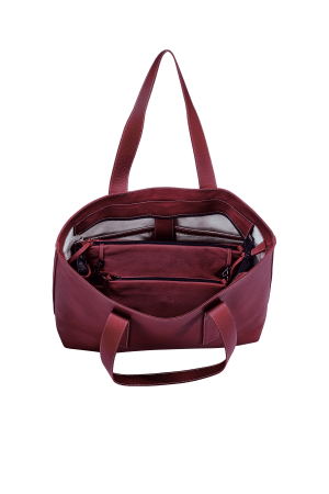 "Package ""Gina"": INSIDER + Business Bag Travel – Brombeere"