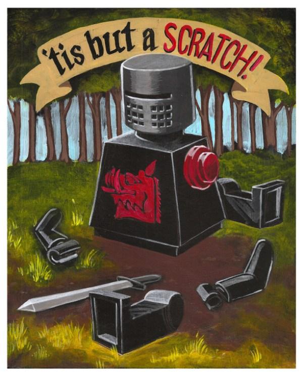 'tis but a scratch!