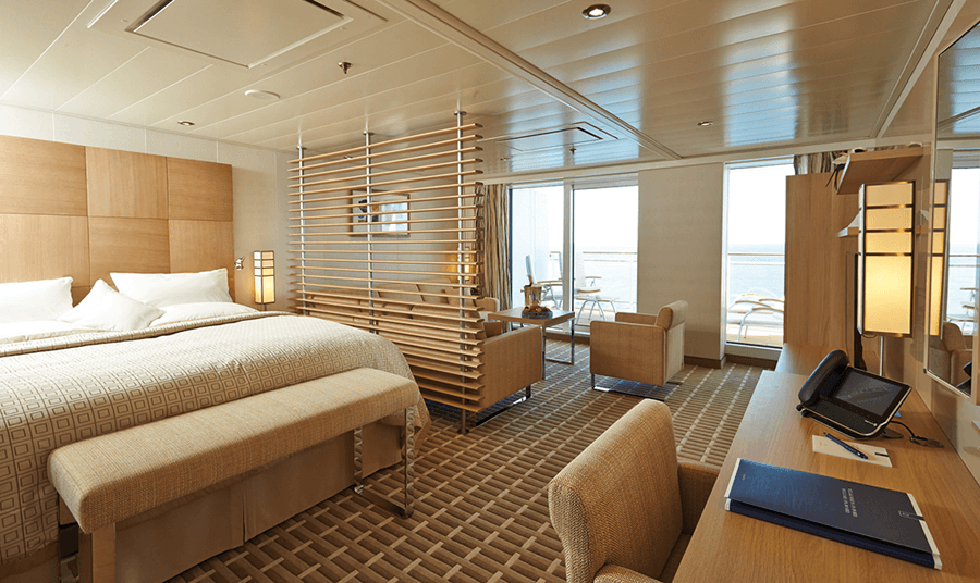 VONsociety: Cruise, Europa 2 Grand Suite – Butler Service inklusive