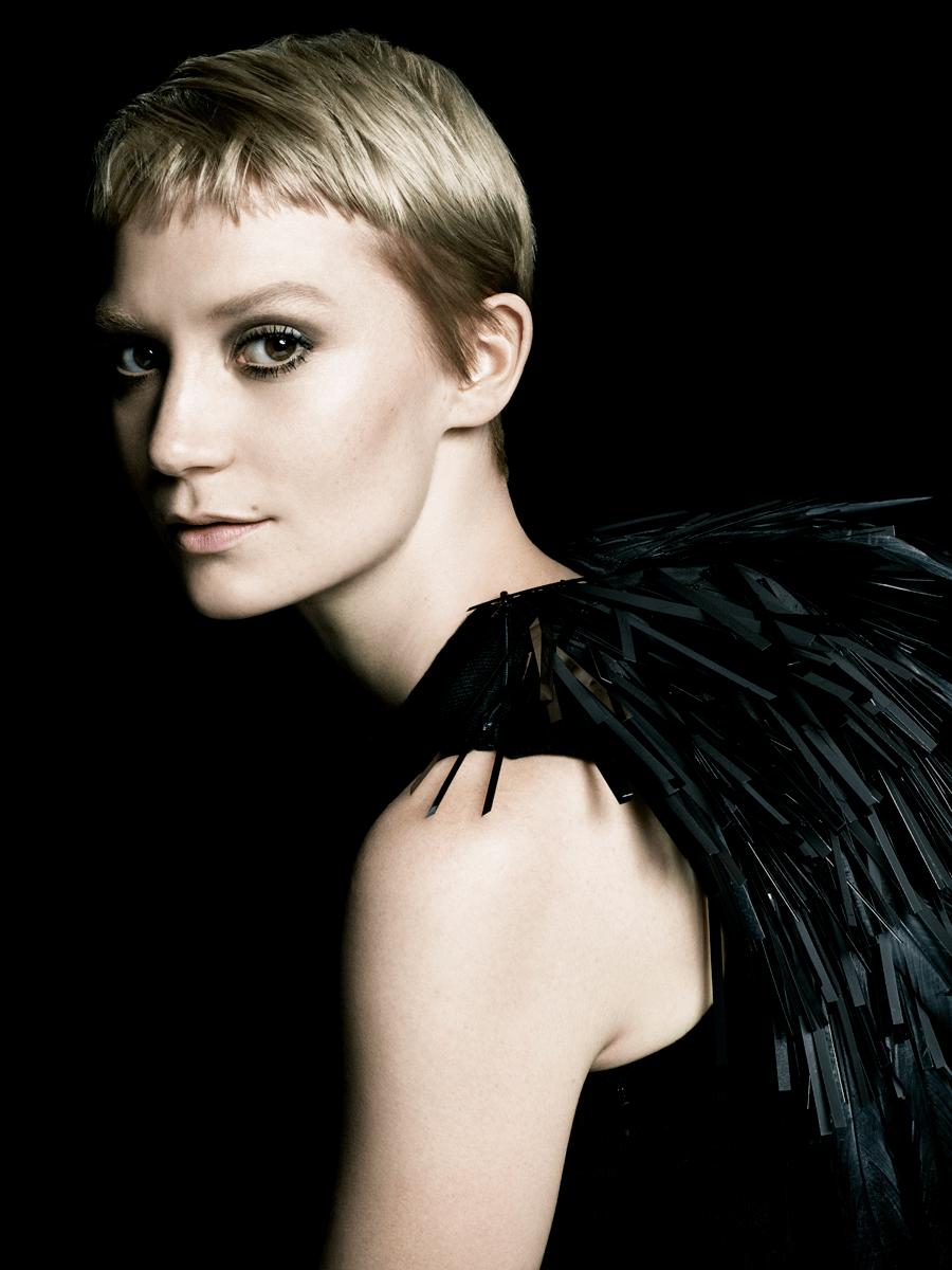 VONsociety: Prada La Femme, Mia Wasikowska © Steven Meisel
