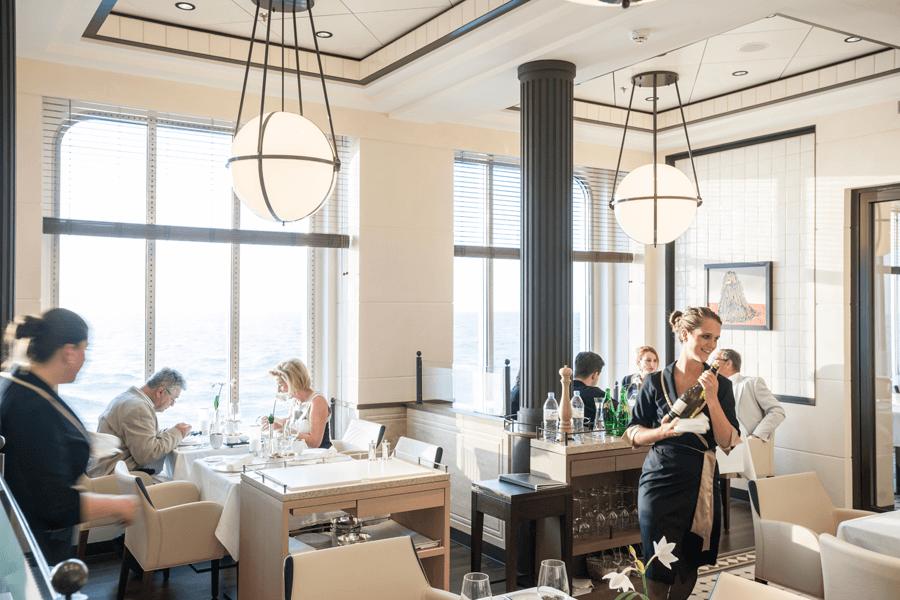VONsociety: Mediterrane Trauminseln, EUROPA2, Restaurant Tarragon