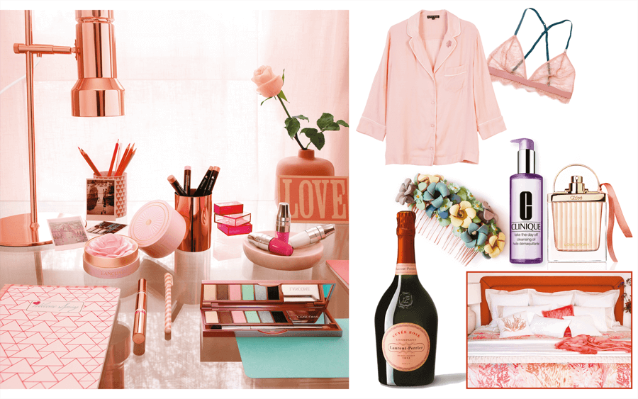VONsociety: Valentinstag, Lancôme Spring Collection 2017, ReyerLooks, Laurent Perrier Rose´Champagner, Zara Home, Chloé Eau Sensuelle, Clinique
