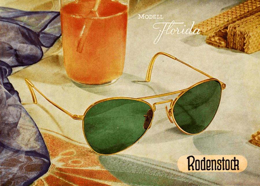 VONsociety: Rodenstock, Modell Florida 1958