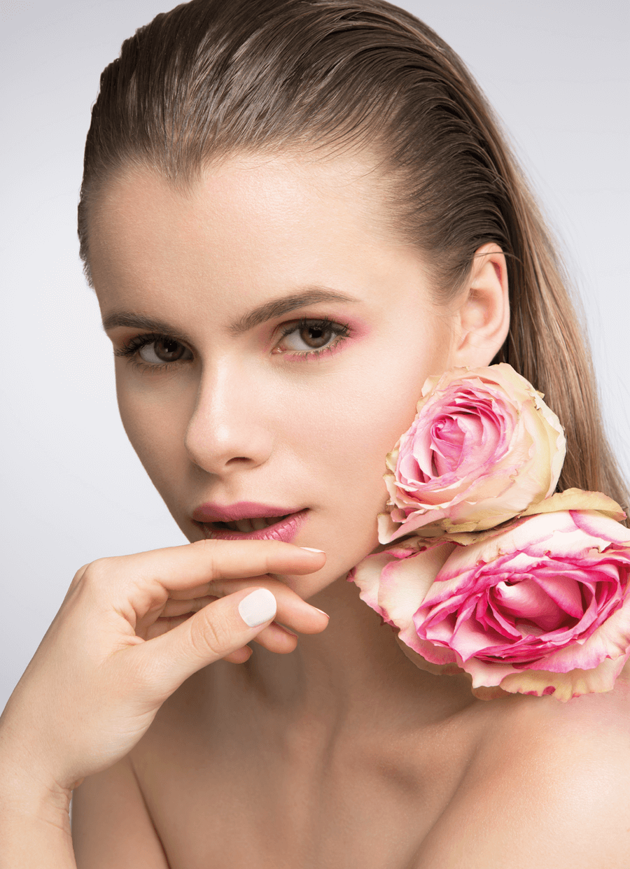 VONsociety: Making of Beauty Shooting Spring Look 2017, Model Laura M., Foto Katharina Harris