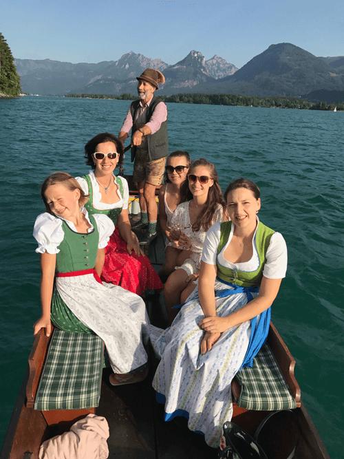 VONsociety: Wolfgangsee Salzkammergut, Ausflug mit dem Traunerl