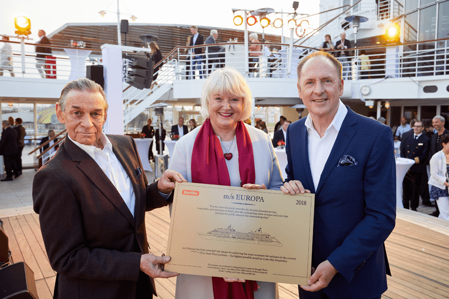VONsociety: EUROPAs Beste, Douglas Ward Berlitz Cruise Guide, Gabi Haupt und Karl J. Pojer Hapag-Lloyd Cruises