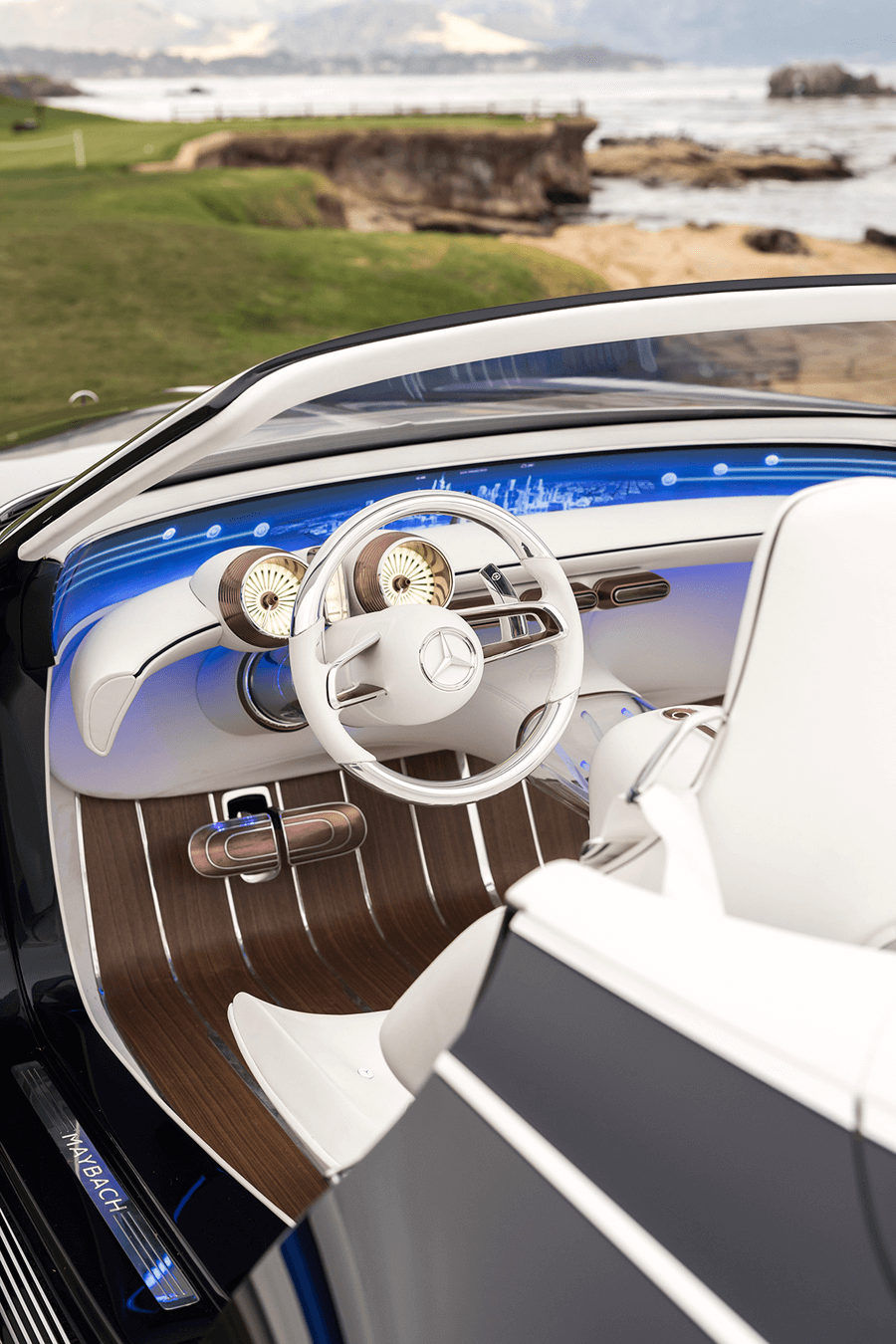 VONsociety: Vision Mercedes Maybach 6 Cabriolet, Interior © Daimler AG