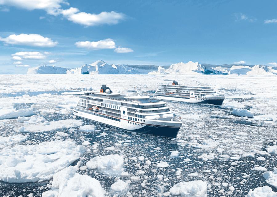 VONsociety: HANSEATIC nature & HANSEATIC inspiration, neue Expeditionsschiffe © Hapag-Lloyd Cruises