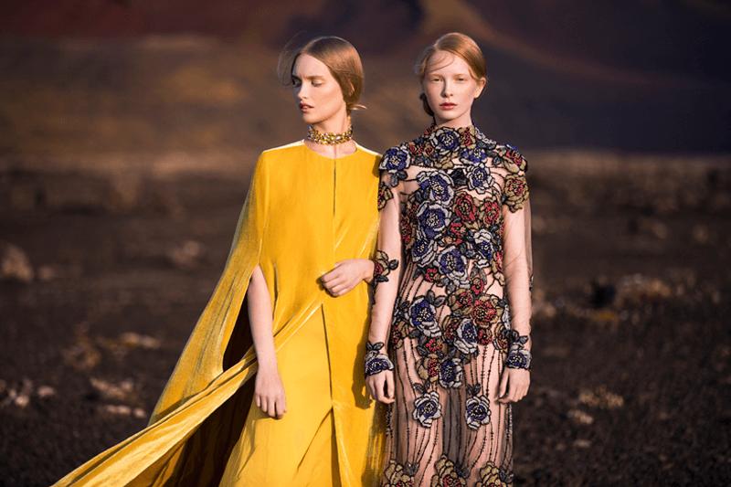 VONsociety: Eva Poleschinski, Colours Kollektion © Oliver Rathschueler