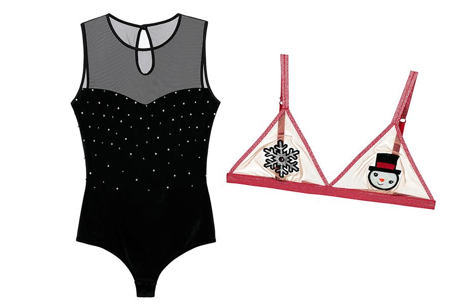 VONsociety: Last minute Geschenke für die beste Freundin, Intimissimi Body mit Perlen, Tezenis Bralette