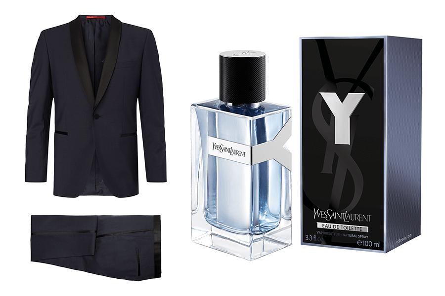 VONsociety: Last minute Geschenke für den Liebsten, Yves Saint Laurent Y Parfum, Anzug von HUGO Peek & Cloppenburg