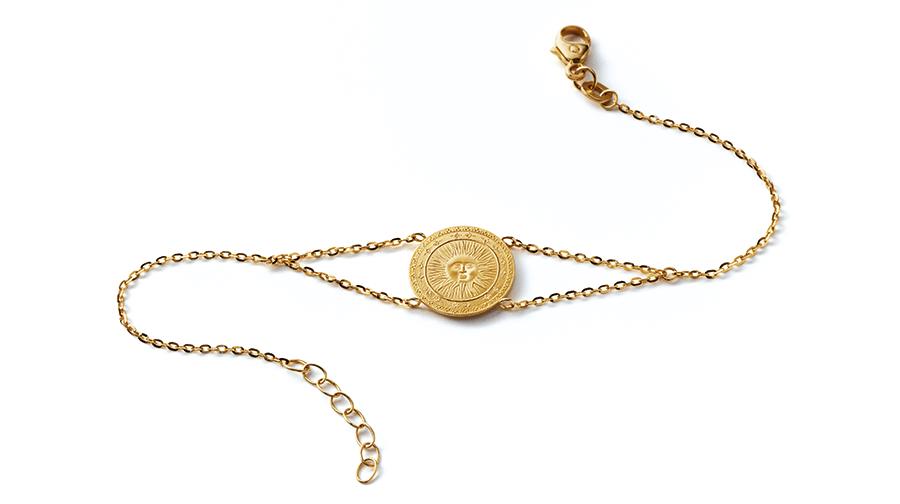 VONsociety: Last minute Geschenke für die beste Freundin, Münze Österreich & Dorotheum Juwelier Schmuckserie Wachgeküsst Armkette Sonne Gold