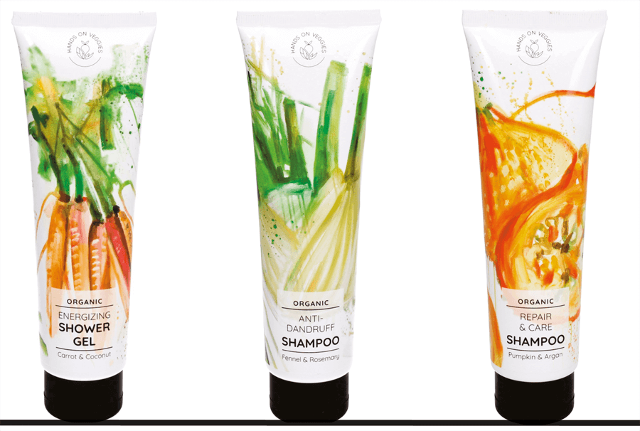 VONsociety: Mangolds, Hands on Veggies Duschgel und Shampoo