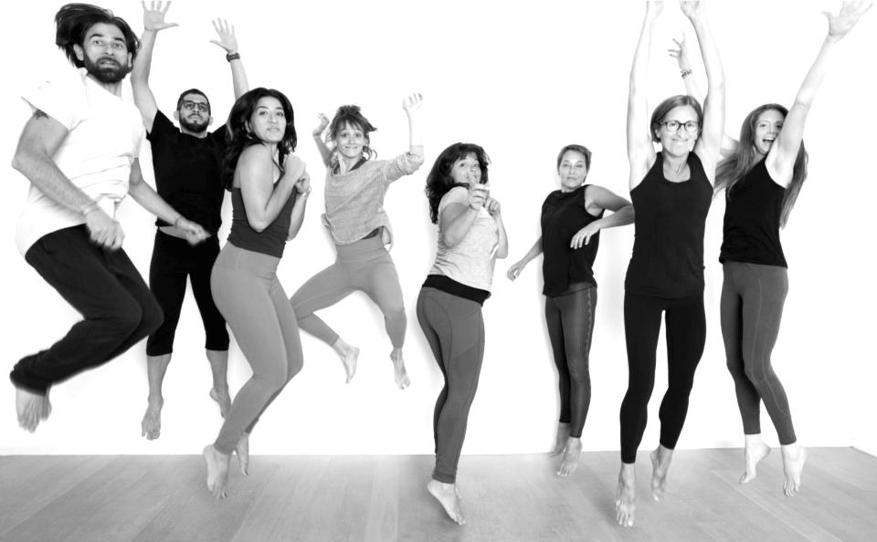 VONsociety: Home Office, Covid-19, Team Yogawerkstatt