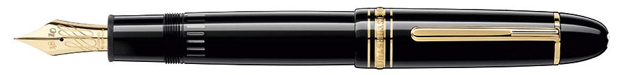 VONsociety: Produktbild Montblanc Calligraphy Füllfeder in schwarz © Montblanc
