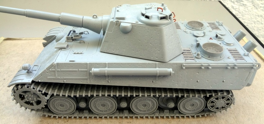 Panther II – Montaggio (assembling)
