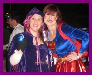 Queen Amidala and Superwoman