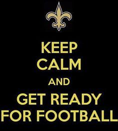 keep calm football season