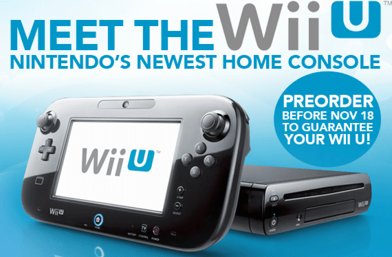 EB Games give cut off date for Wii U Preorder Guarantees
