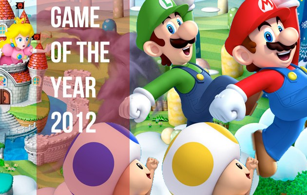 Vooks Game of the Year 2012: New Super Mario Bros. U