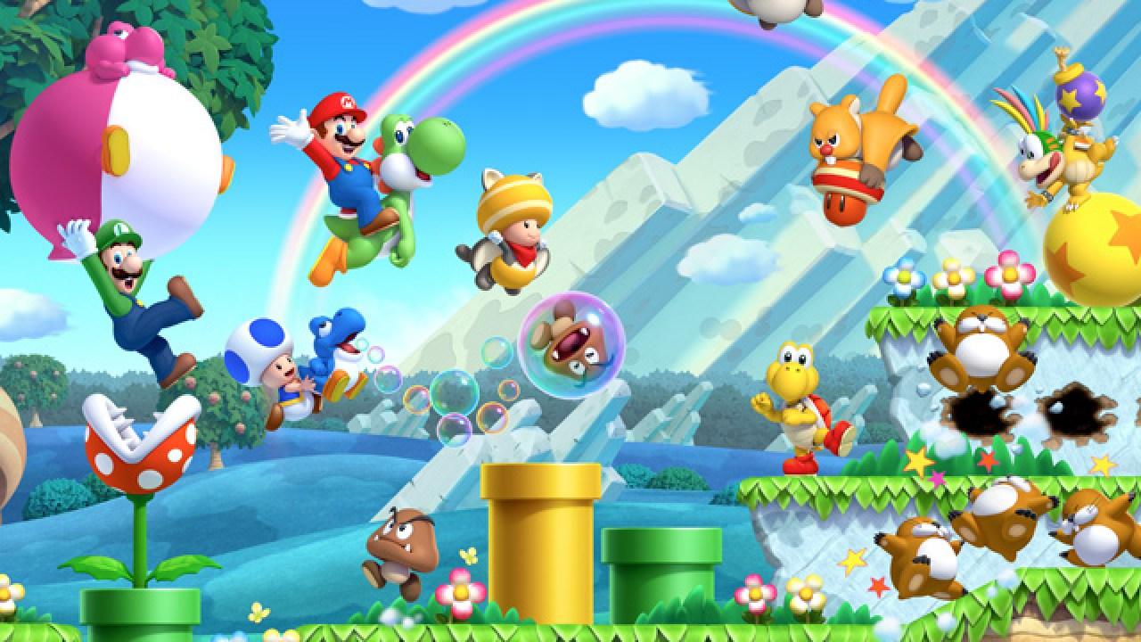 New Super Mario Bros U Review Wii U Vooks