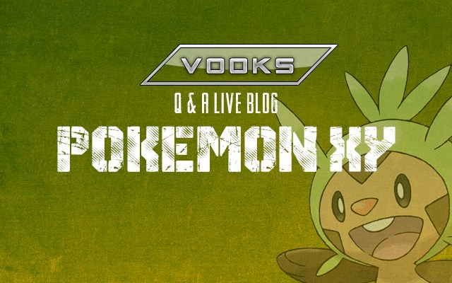 E3 2013: Pokemon X and Y Q&A Live Blog