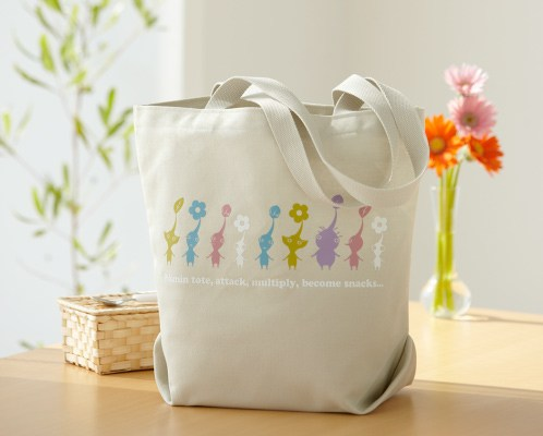You totes have to get this Club Nintendo Pikmin tote bag
