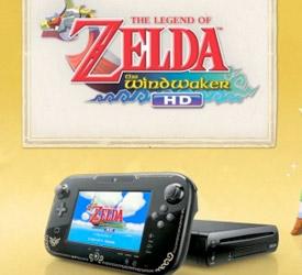 Wii U bundle with Wind Waker and Zelda GamePad design leaked
