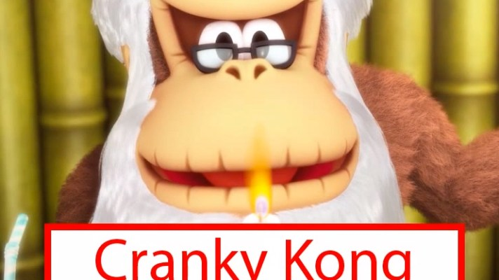 Cranky Kong shows his moves in new Donkey Kong Country: Tropical Freeze Trailer