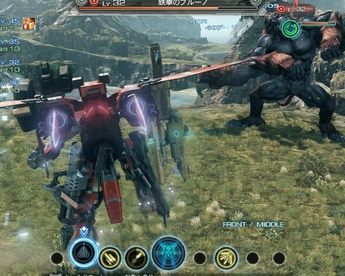 Fresh gameplay footage of Monolith Soft's X in action