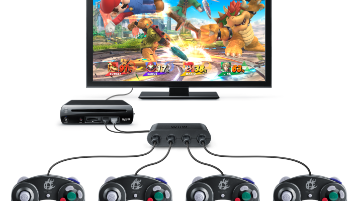 E3 2014: GameCube Controller Adapter for Wii U bundles and price announced