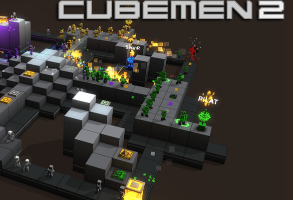 Cubemen 2 arrives on the Wii U eShop on September 4th