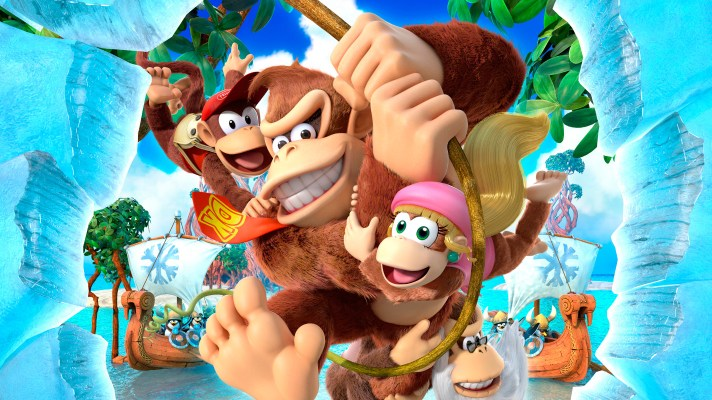"""Miiverse """"Achievements"""" Found in Donkey Kong Country: Tropical Freeze"""