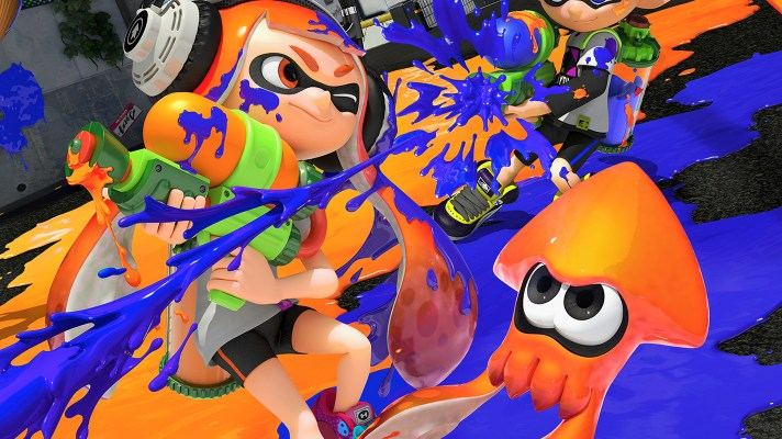 Splatoon comes to mobile, kind of – thanks to China