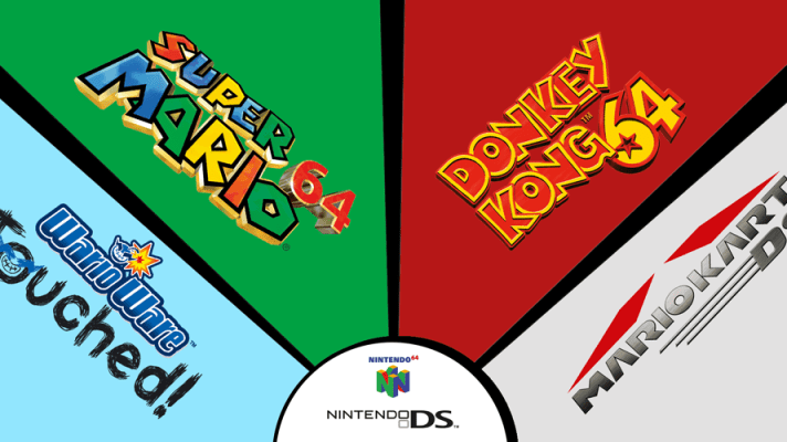 Nintendo 64 and Nintendo DS games finally come to the Wii U Virtual Console