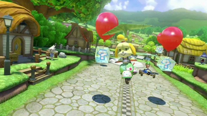 Mario Kart 8's Animal Crossing DLC pack moved up to April 23rd along with 200cc mode