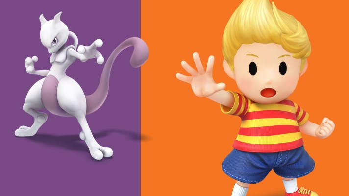 Mewtwo date set, Lucas appears out of nowhere for Super Smash Bros