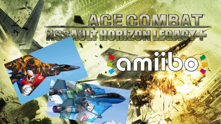 Watch: Unlocking amiibo skins on Ace Combat Assault Horizon Legacy +