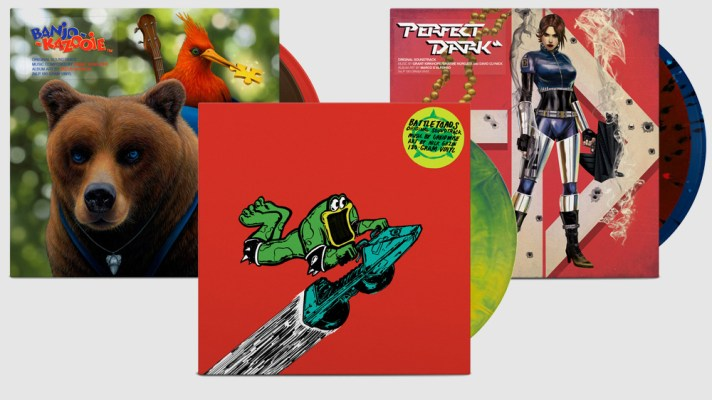 iam8bit releasing Banjo-Kazooie, Perfect Dark and Battletoads vinyl soundtracks