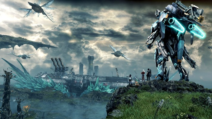 Xenoblade Chronicles X arrives in December, Xenoblade Chronicles on the Wii U eShop right now