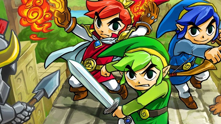 Zelda: Tri Force Heroes demo codes going out to Aussies now