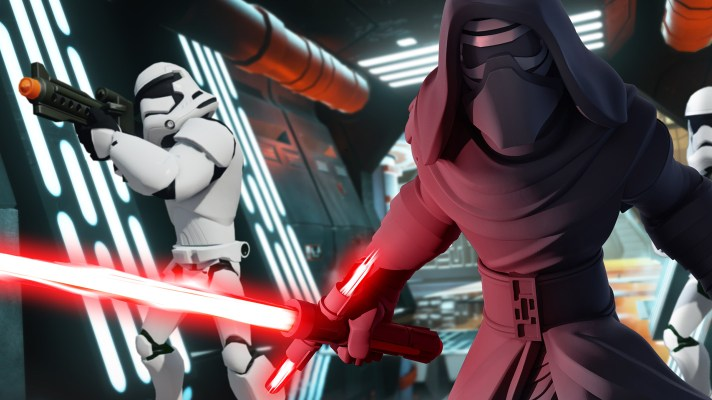 First look at the The Force Awakens Play Set for Disney Infinity 3.0