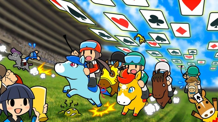 Gamefreak's Pocket Card Jockey comes to 3DS this may