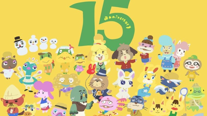 Animal Crossing celebrates its 15th anniversary today