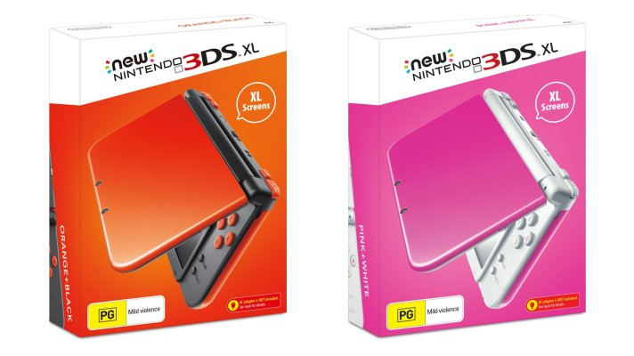 Two new colours join the New 3DS XL range this November
