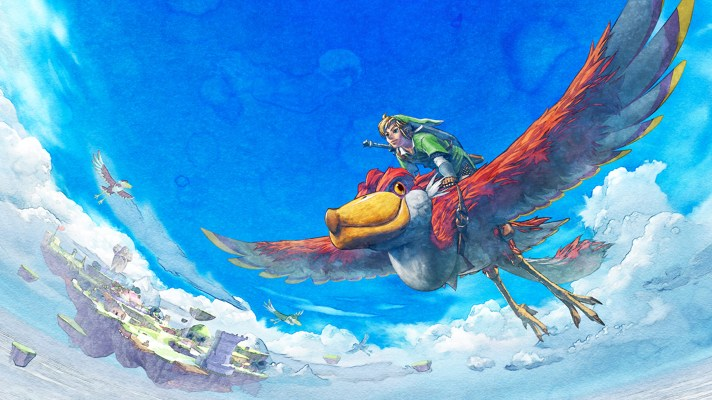 The Legend of Zelda: Skyward Sword HD is coming to the Switch this July