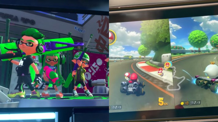 Splatoon and Mario Kart 8 coming to Nintendo Switch with apparent added content