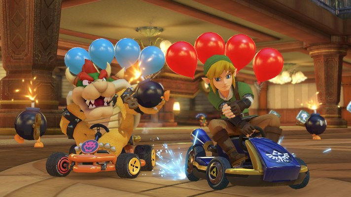 Mario Kart 8 Deluxe chases Breath of the Wild as ARMS and 1-2 Switch break 1 million sold