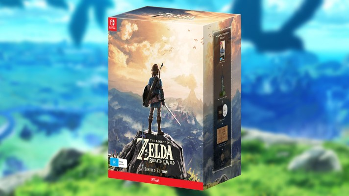 EB Games final Breath of the Wild Limited Edition allocation on sale today