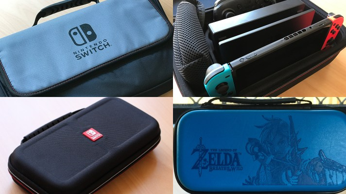 Nintendo Switch case and carry bag review roundup